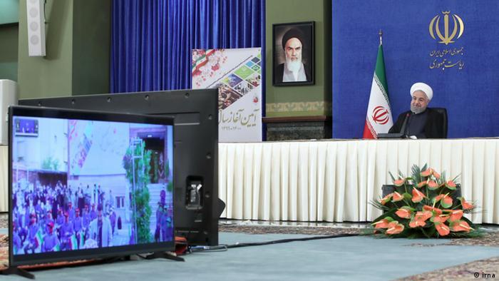 شرکت مجازی حسن روحانی در مراسم آغاز سال تحصیلی ۱۳۹۹ – ۱۴۰۰