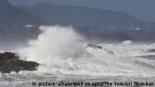 Japan Taifun Haishen