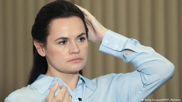 Svetlana Tikhanovskaya (Getty Images/AFP/P. Malukas)