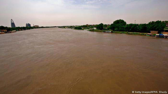 Afrika Hochwasser im Sudan (Getty Images/AFP/A. Shazly)