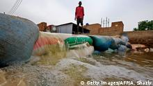 Afrika Hochwasser im Sudan