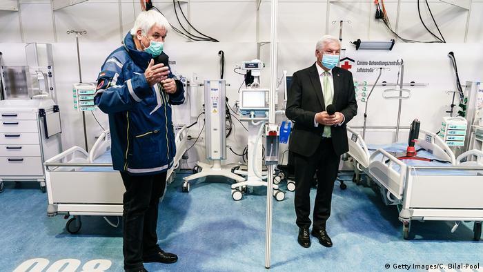 Coronavirus I Frank-Walter Steinmeier (Getty Images/C. Bilal-Pool)