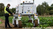 Робот Bonirob для сельскохозяйственных работ