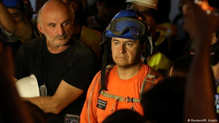 فريق الانقاذ التشيلي يفقد الأمل على العثور على أحياء أسفل مبنى منهار في بيروت (5 سبتمبر/ أيلول 2020)