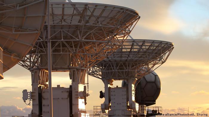 China Wengchang Radaranlage Raumfahrt