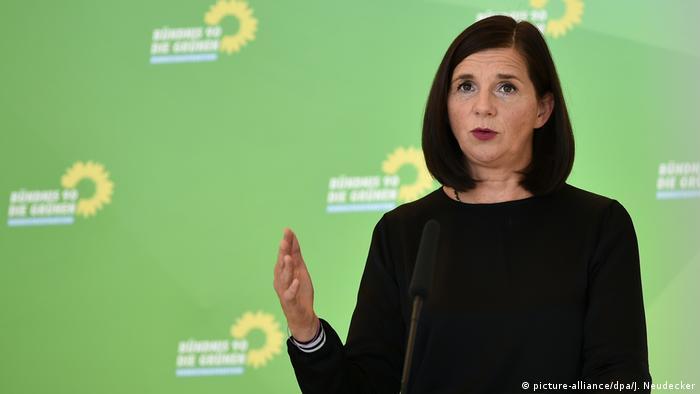 Deutschland Berlin Abschluss Klausurtagung der Grünen | Katrin Göring-Eckardt (picture-alliance/dpa/J. Neudecker)