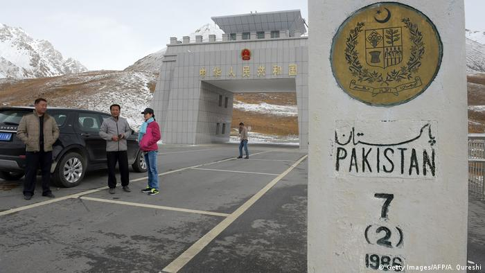 Grenze Pakistan China | Khunjerab pass (Getty Images/AFP/A. Qureshi)