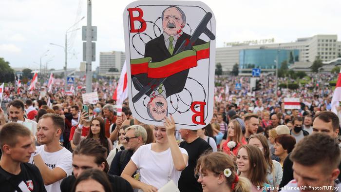 На акции протеста в Минске 6 сентября