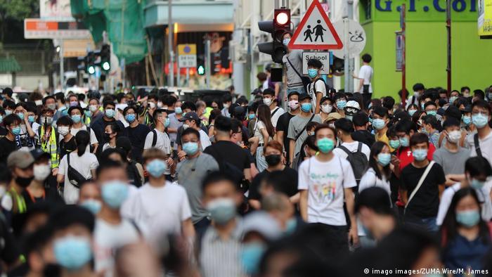 Hongkong Demonstration gegen verschobene Wahlen
