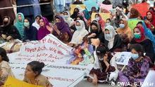 Pakistan I Protestes I Ermordung eines Studenten aus Belutsch