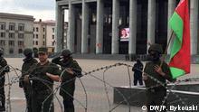Weißrussland |Proteste in Minsk