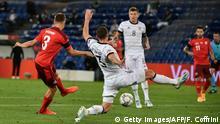 Fußball: Nations League 2020 I Schweiz - Deutschland Tor Widmer