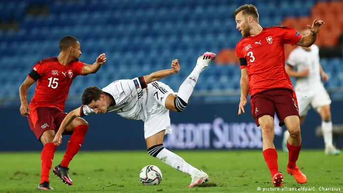 Uefa Nations League Germany Let Lead Slip Again To Draw In Switzerland Sports German Football And Major International Sports News Dw 06 09 2020