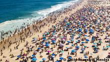 Brasilien Rio de Janeiro Ipanema Strand