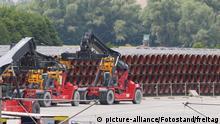 Deutschland Sassnitz | Rohre für Nord Stream 2 Pipeline