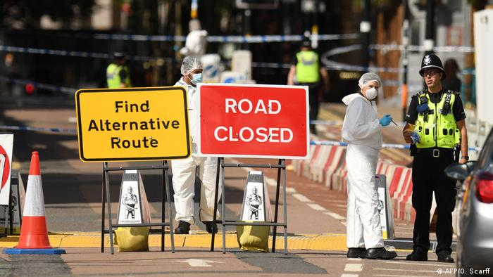 Großbritannien Messerangriff in Birmingham