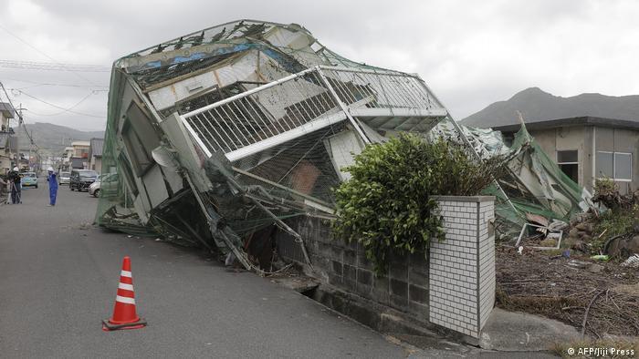 Тайфун зруйнував будинки в Японії