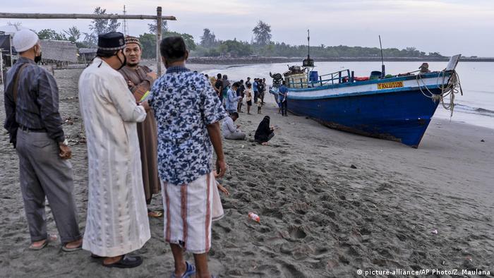 Indonesien Provinz Aceh | gestrandete Rohingya