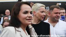 Belarus Präsidentschaftswahl 2020 Maria Kolesnikowa
