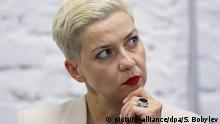 Belarus Präsidentschaftswahl 2020 Kolesnikowa