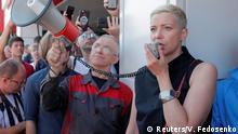 Belarus Protest Maria Kolesnikowa