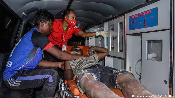 Indonesien Provinz Aceh Geflüchtete Rohingya (imago images/ZUMA Wire/M. Has)