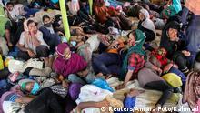 Indonesien Provinz Aceh Geflüchtete Rohingya