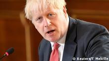 Großbritannien Boris Johnson, Kabinettsitzung