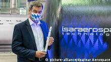 Raketen-Start-up Isar Aerospace startet Produktion - Markus Söder