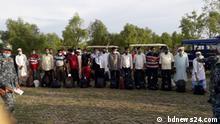 Bangladesch Rohingya-Flüchtlingslager Cox`s Bazar Bhasan Char Umsiedelung