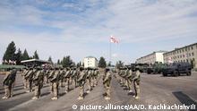 Georgien Nato-Großübung Noble Partner bei Tiflis