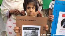 Pakistan Verschwinden des Journalisten Sajid Gondal |Protest der Familie - EINSCHRÄNKUNG