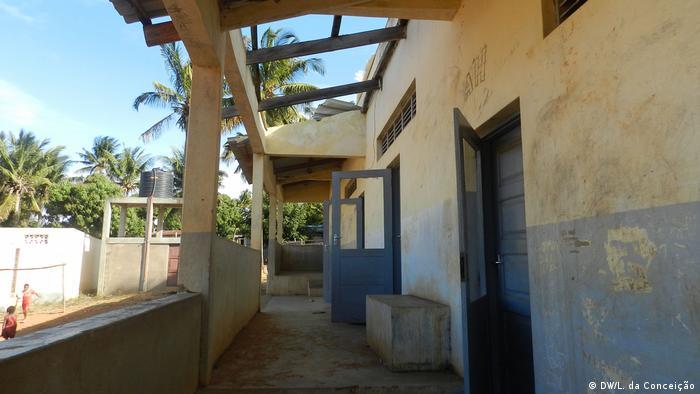 Mosambik Inhambane  Gesundheitszentrum nach Zyklon