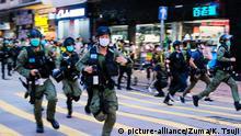 Hongkong Protest gegen Verschiebung der Wahl
