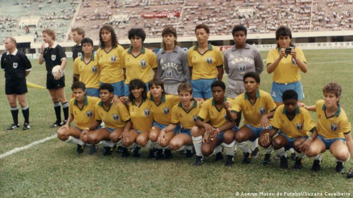 Seleção brasileira feminina no Mundial Experimental de 1988