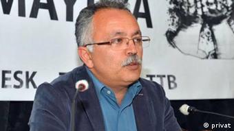 Özgür Bozdoğan, Vorstandsmitglied im Lehrergewerkschaft Eğitim-Sen