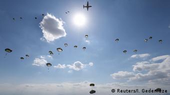 Совместные военные учения НАТО и армии Грузии, сентябрь 2020 года