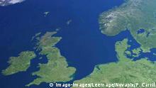 Symbolbild I Satelitenaufnahme I Nordsee