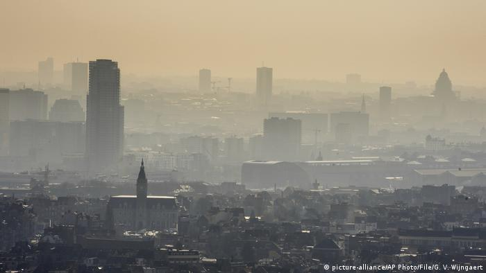 Smog in Brussels