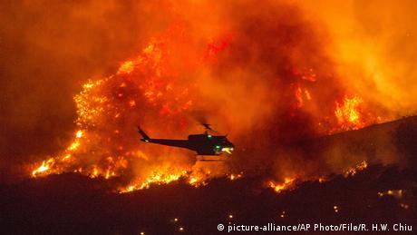 USA I Waldbrände in Kalifornien (picture-alliance/AP Photo/File/R. H.W. Chiu)
