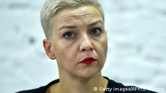 Мария Колесникова, одна из лидеров белорусской оппозиции, член Координационного совета