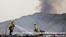 USA I Waldbrände in Kalifornien