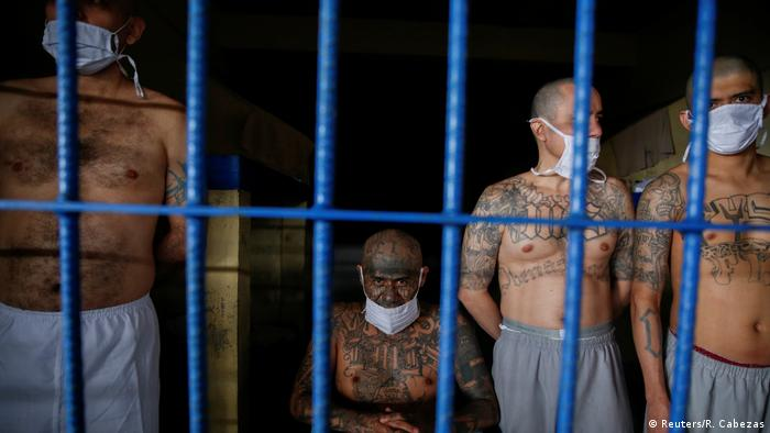 El Salvador Häftlinge Gang Mitglieder Coronavirus (Reuters/R. Cabezas)