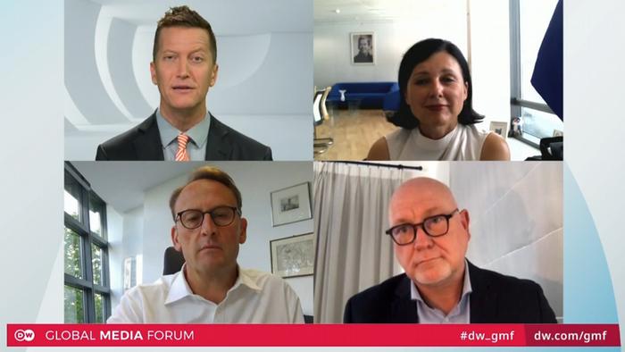 Screenshot DW Global Media Forum   Session 5