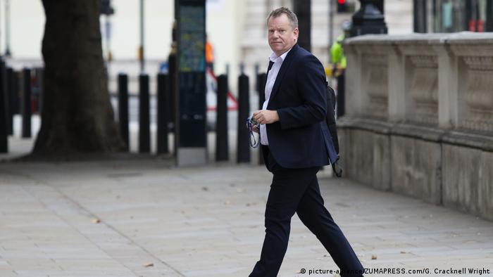 UK Brexit Verhandlungen | Lord David Frost (picture-alliance/ZUMAPRESS.com/G. Cracknell Wright)
