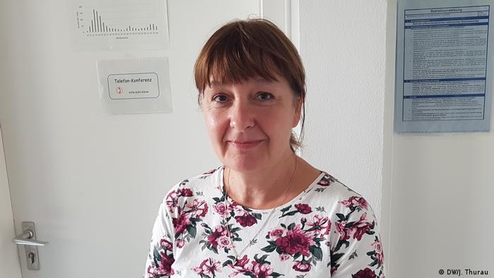 Nicoletta Wischnewsik (DW/J. Thurau )