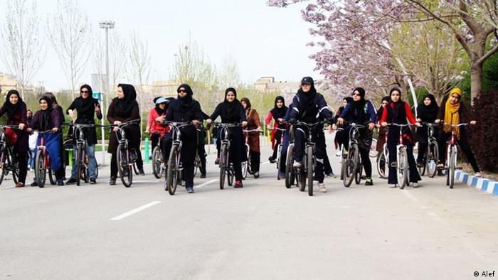 Iran Ardakan Frauen Fahrradinitiative