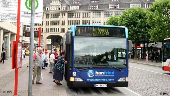 Bushaltestelle in Hamburg (Foto: HVV)