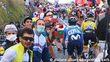 05.09.2020 ROT // Am Col de Peyresourde im Gelben Trikot Adam Yates (Grossbritannien / Team Mitchelton - Scott) - 8. Etappe Cazeres - Loudenvielle - Tour de France 2020 - TourDeFrance - Tour de France - TdF -  