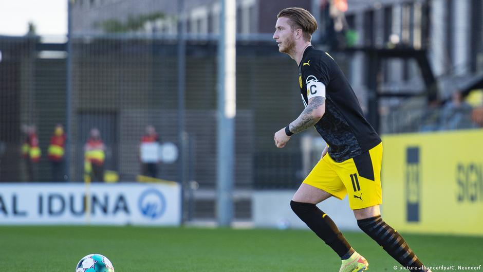 Marco Reus 'ready to go' as Borussia Dortmund prepare for Bundesliga return
